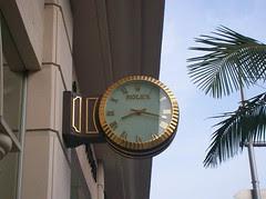Clock in Beverly Hills