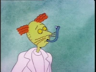 Doug Funnie is Crazy: Episode 12, Part 1; Doug is Quailman Quailman Q