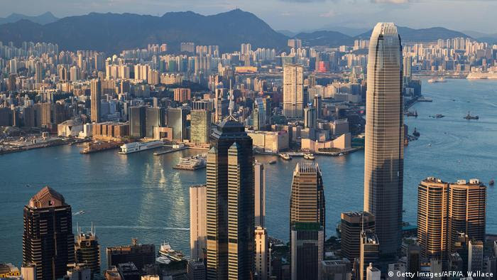 Hongkong Skyline (Getty Images/AFP/A. Wallace)