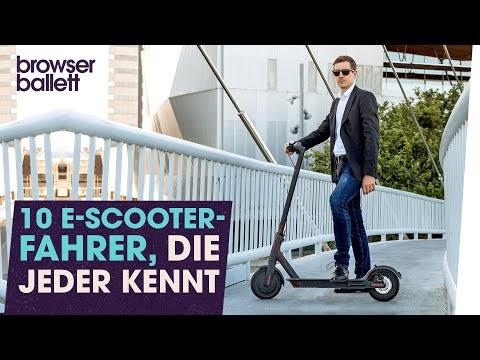wideblick 10 e scooter fahrer die jeder kennt. Black Bedroom Furniture Sets. Home Design Ideas