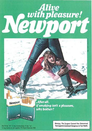 Newport Cigarettes Advertisement