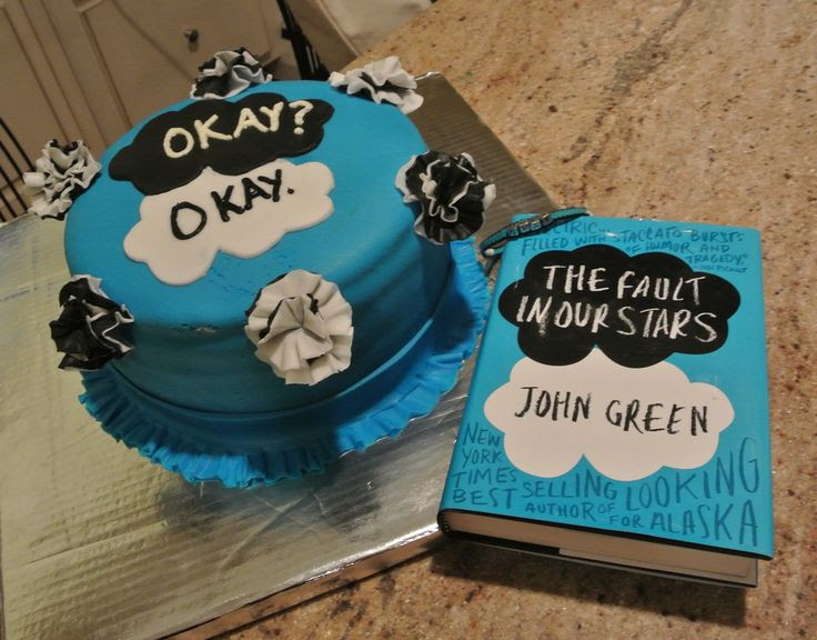 The Fault in Our Stars Cake - Cakes by Michelle.