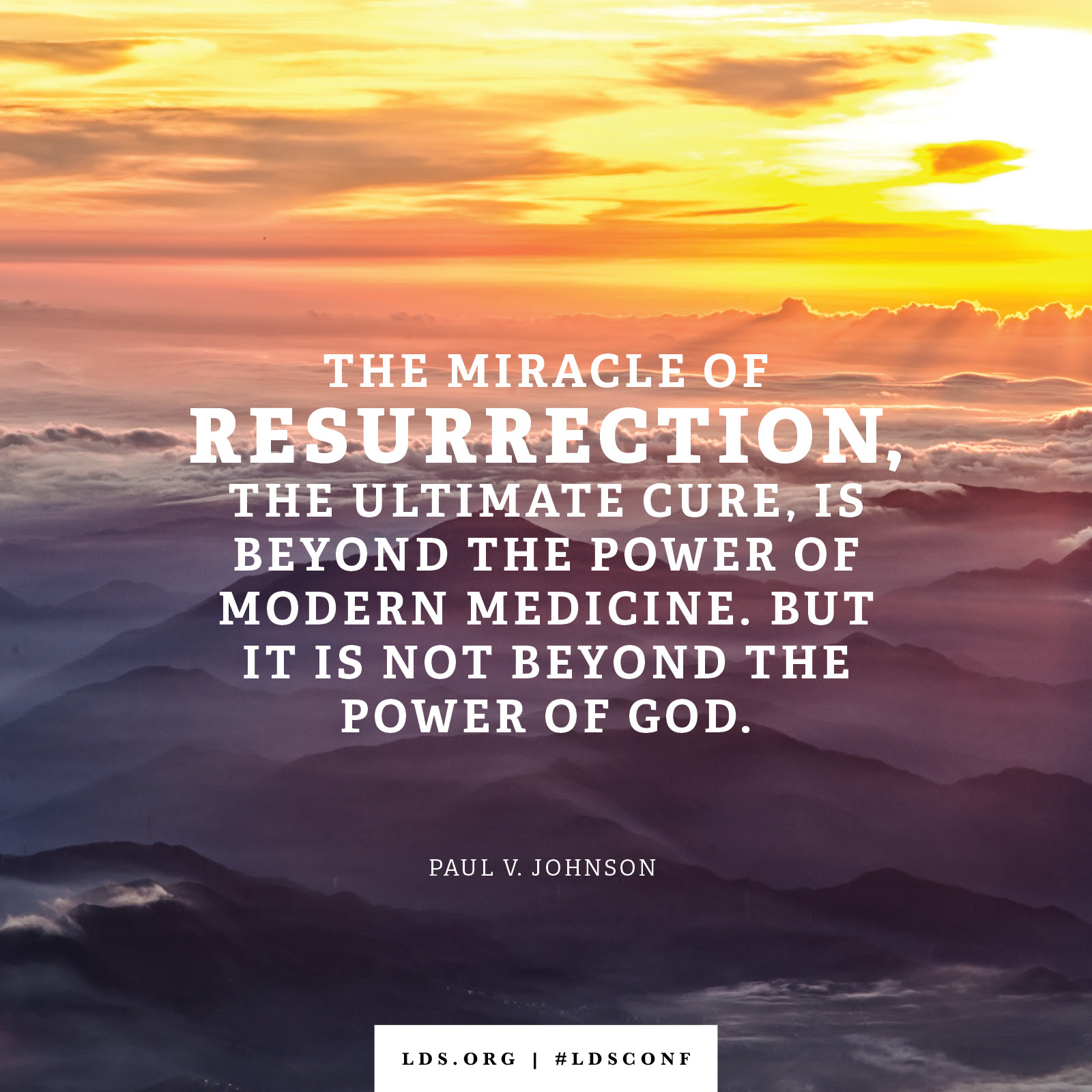The Miracle Of Resurrection