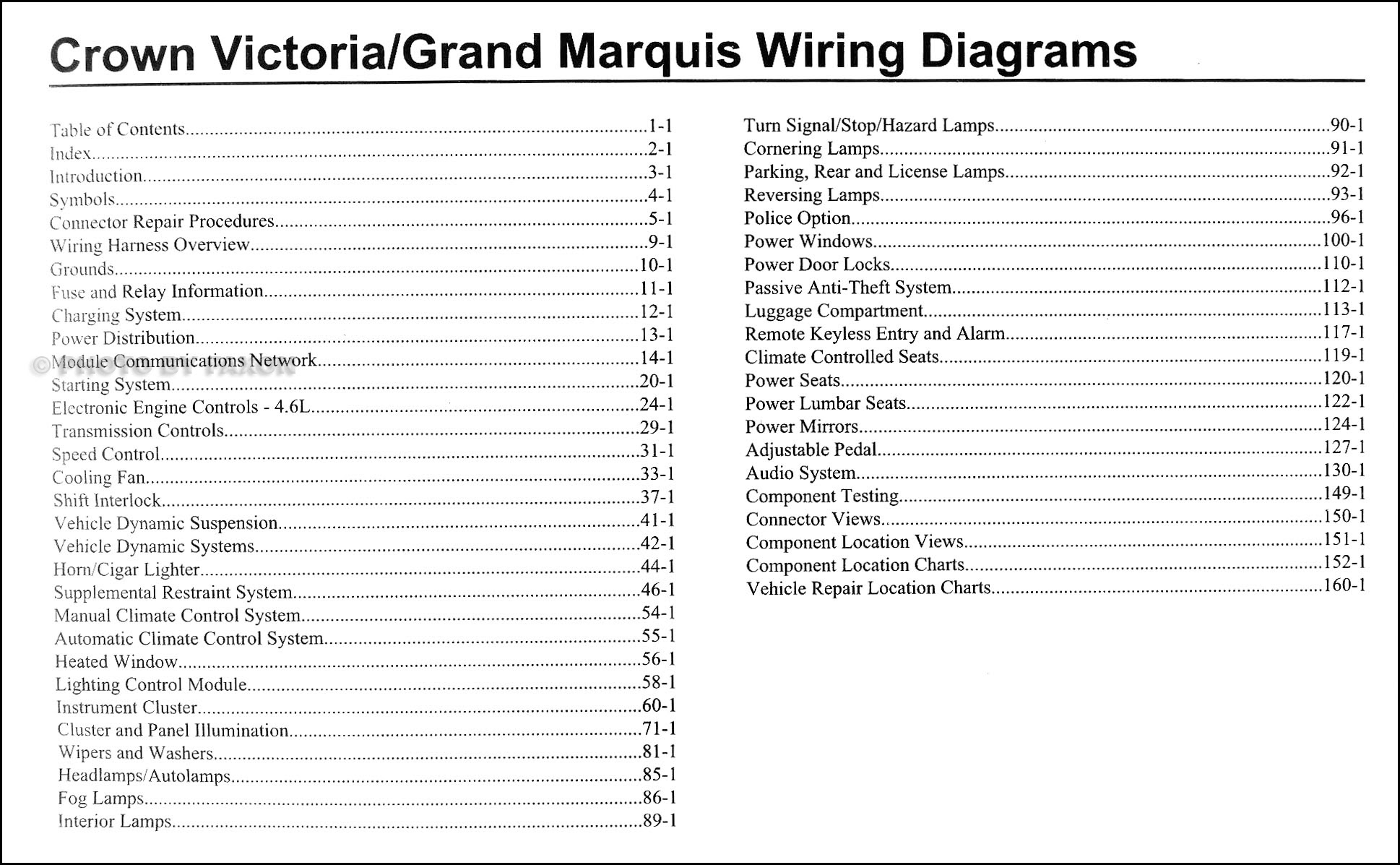 Diagram 2002 Crown Victoria Grand Marquis Original Wiring Diagram Manual Full Version Hd Quality Diagram Manual Diagramloviem Gisbertovalori It
