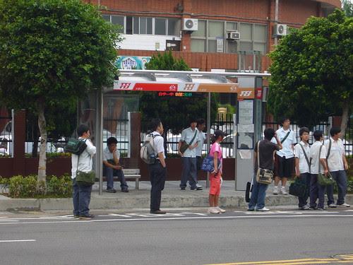 台中一中公車站