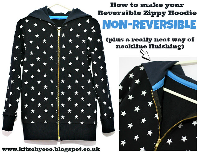 Non Reversible Hoodie cover