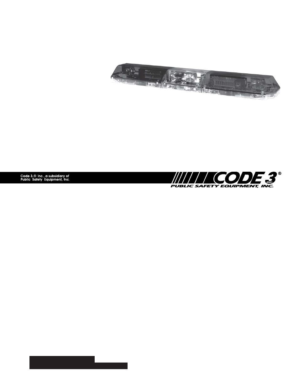 Wiring Diagram Database  Code 3 Excalibur Lightbar Wiring