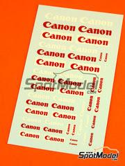 Virages: Calcas escala 1/24 - Canon logos