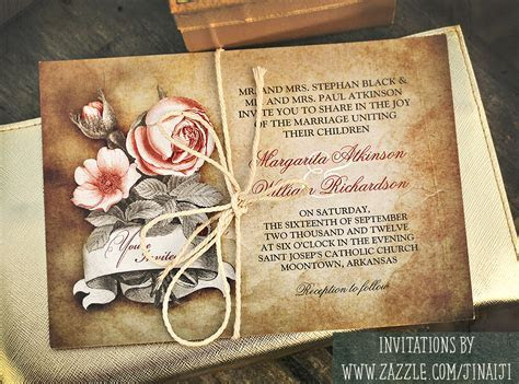 OLD VINTAGE WEDDING INVITATIONS ? NEED WEDDING IDEA