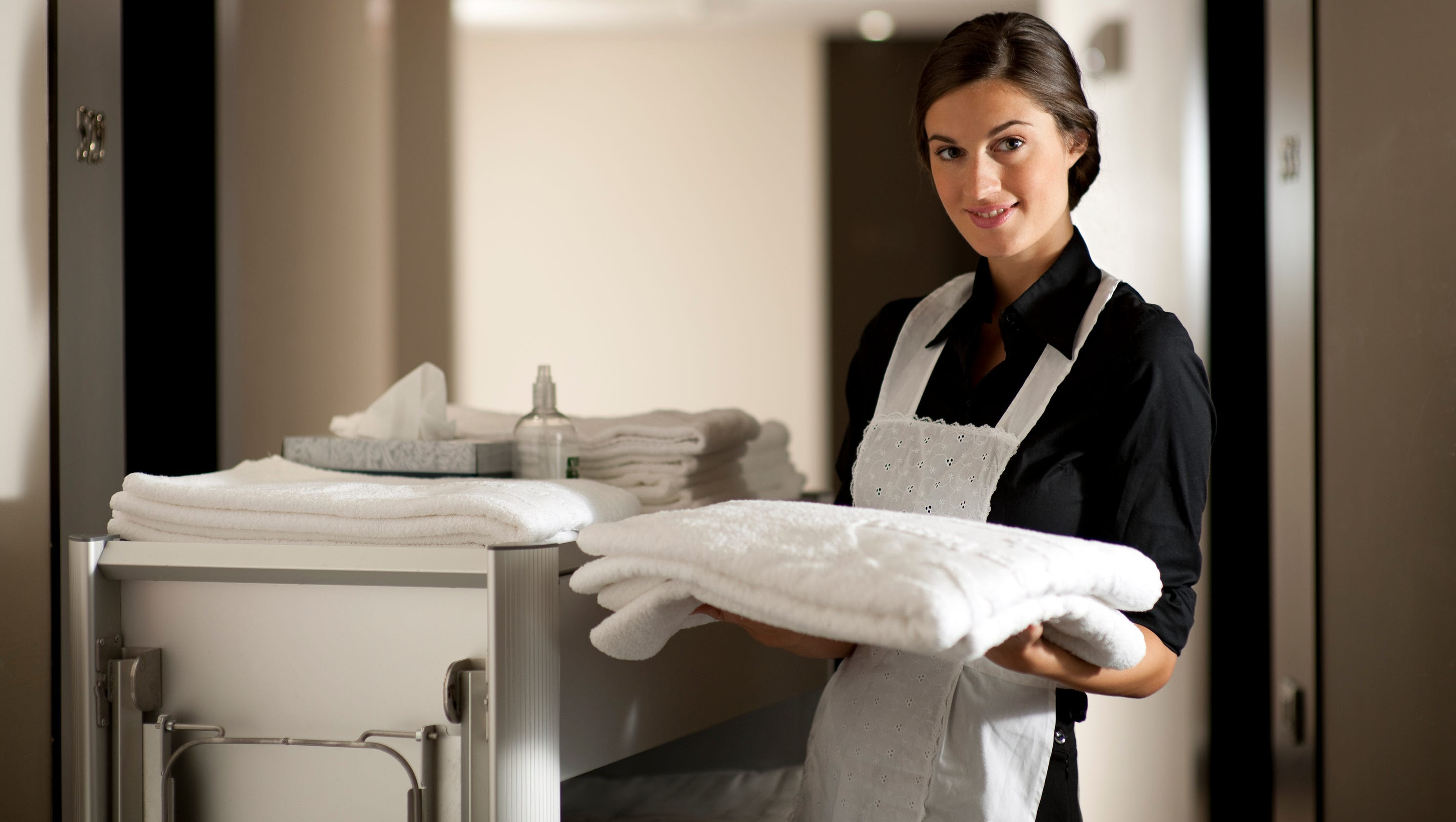 Image result for hotel maid
