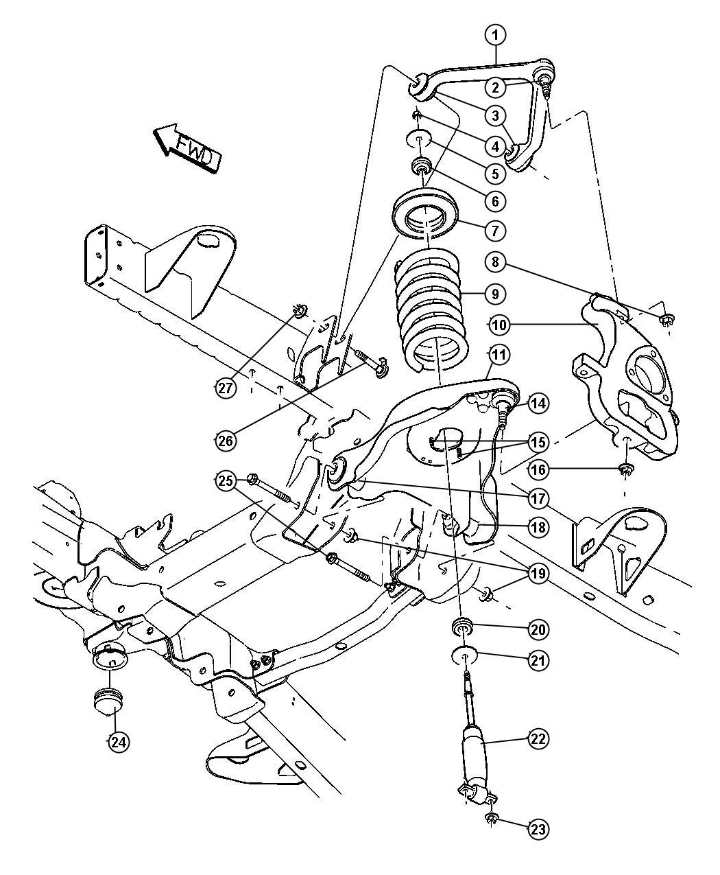 35 Dodge Ram 2500 Front Suspension Diagram