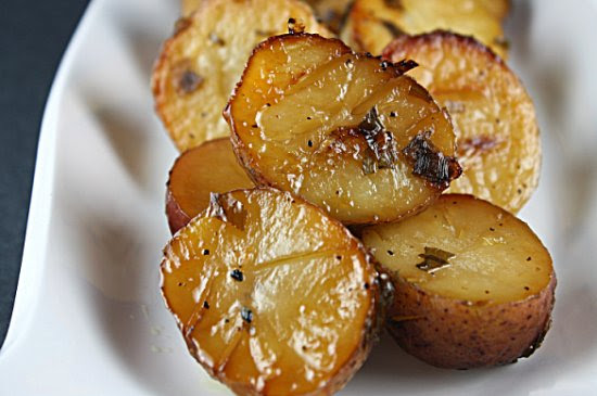 Maple Caramelized Potatoes - IMG_3339 red rempl 2 3