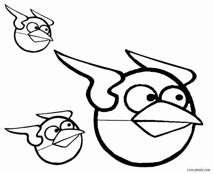 53 Top Printable Coloring Pages Angry Bird  Images