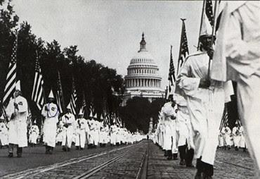 KKK in Washington in 1925