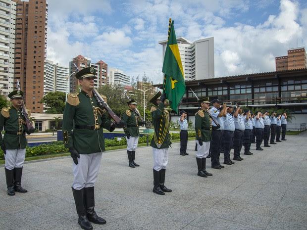 Homenagem no Dia do Ceará ocorre no Palácio da Abolição (Foto: Marcos Studart / Governo do Ceará)