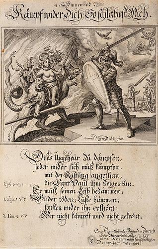 Kampf gegen Sünde und Krönung des Siegers 1653