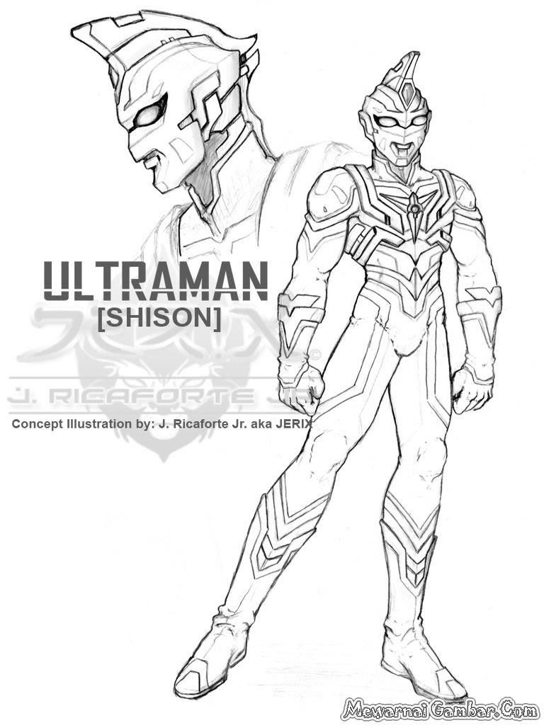 Gambar Mewarnai Ultraman Terbaru Auto Electrical Wiring Diagram