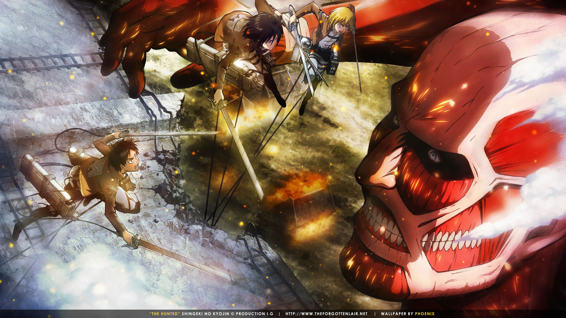 Attack On Titan Wallpaper Hd Sf Wallpaper