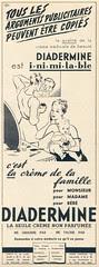 (Petite pub) Diadermine Marie-Claire n°116 - 19 mai 1939