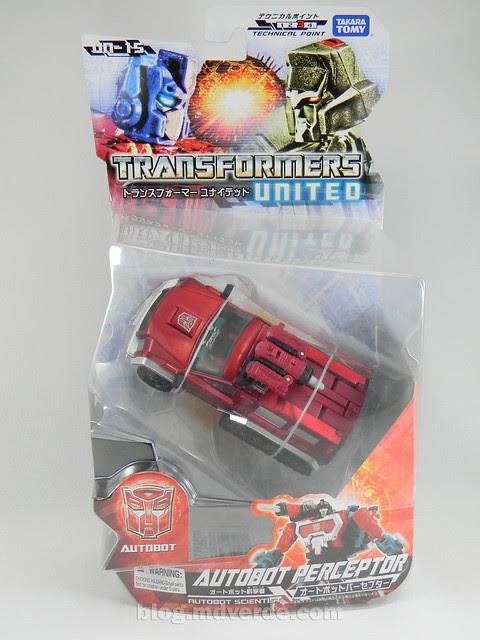 Transformers Perceptor United Deluxe - caja