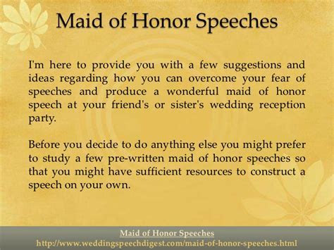 maid honor speeches sister examples maid honor speeches