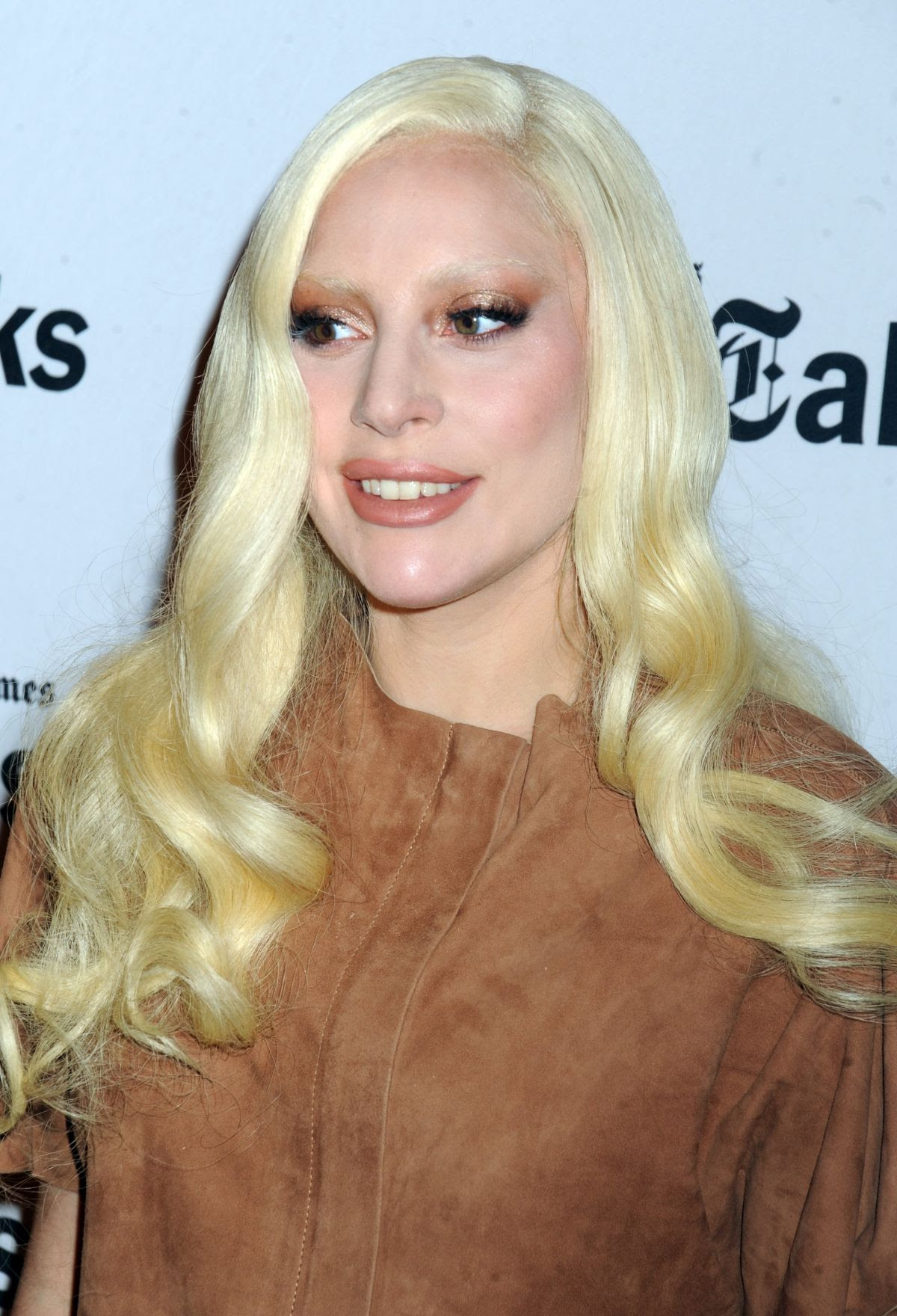 LADY GAGA at Timestalks Presents Hunting Ground at Times Center in New York 12/10/2015