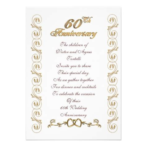 60th wedding anniversary Poems