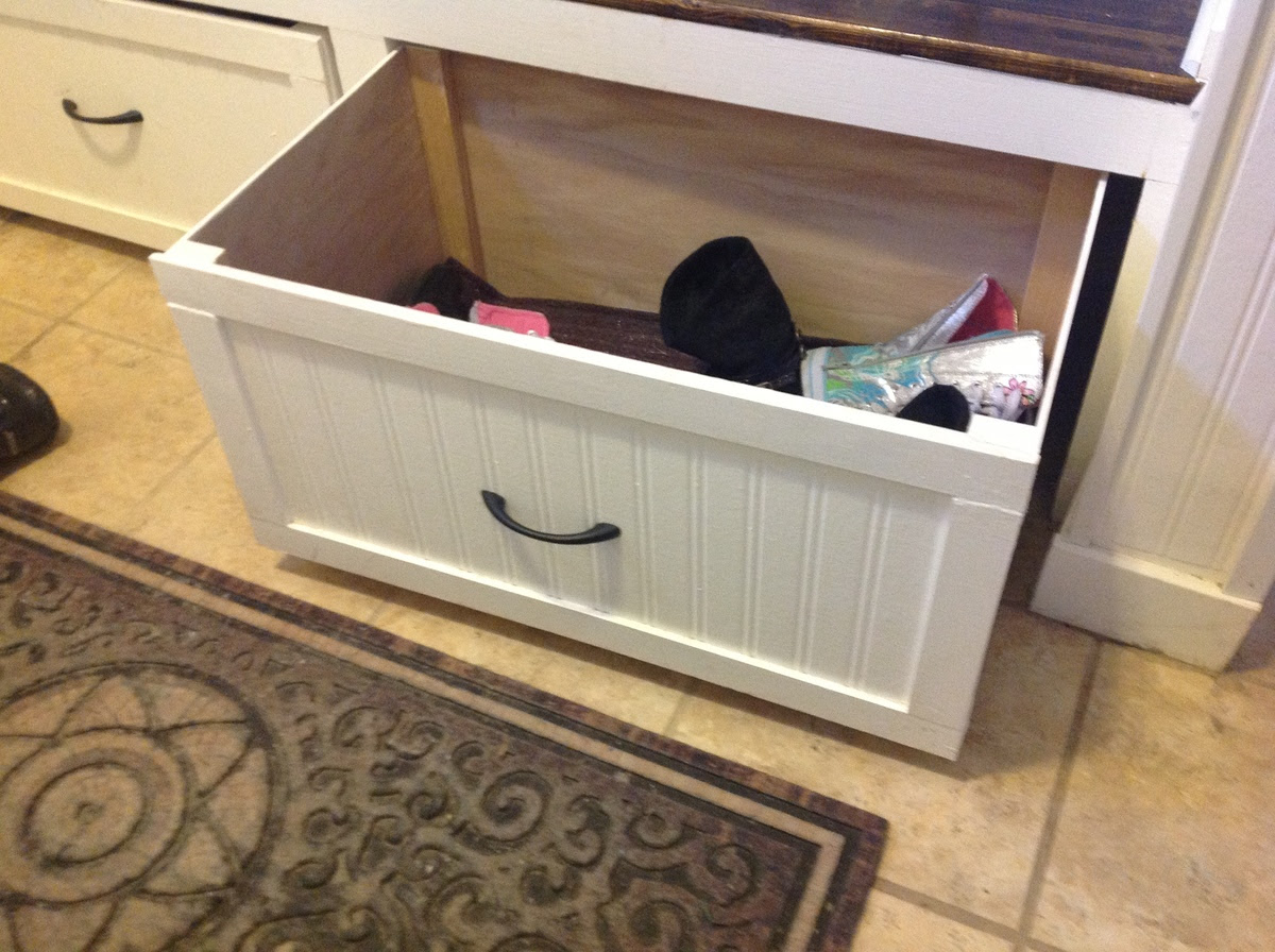 A twist on Modular Family Entryway Mudroom System - Pullout ...