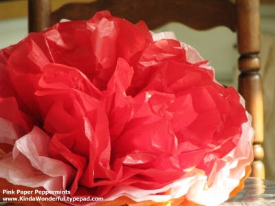 tissue paper flowers how to. Tissue Paper Flowers
