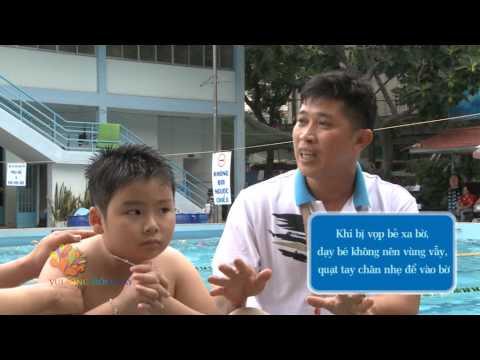 Cách dạy con những kỹ năng bơi an toàn
