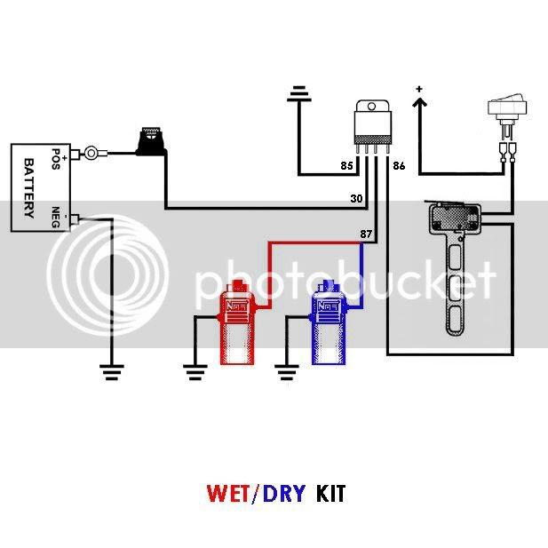Wiring Diagram  34 2 Line Wet Kit Diagram
