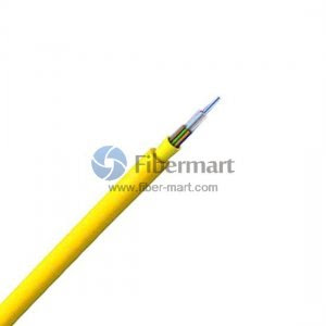 12 Fibers 50/125μm Multimode 10G OM4 Multi-Core Round Tight Buffered Distribution Indoor Fiber Optic Cable-LSZH