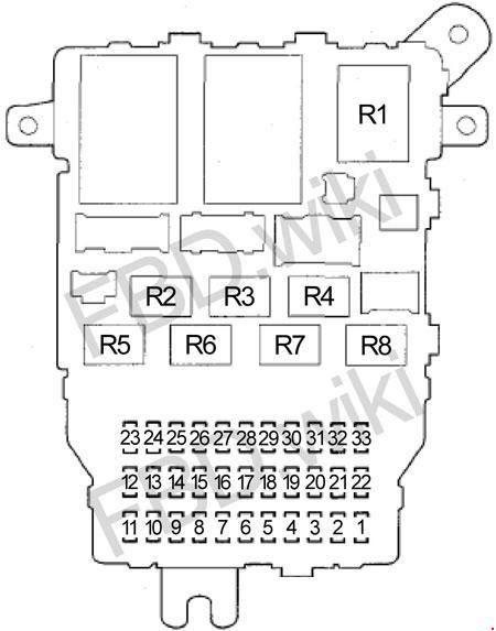 03 07 Honda Accord Fuse Box Diagram