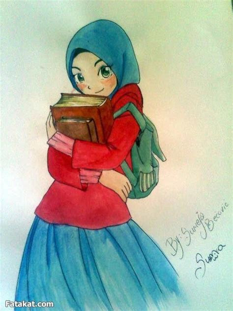 images  muslim girl cartoon  pinterest
