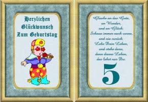 Spruch Geburtstag 5 Jahre Hylen Maddawards Com
