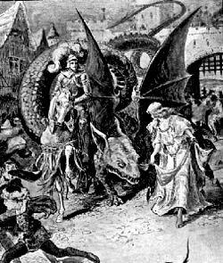 San Miguel Los Dragones Y La Leyenda Del Lagarto De Jaén I