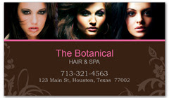 BCS-1001 - salon business card