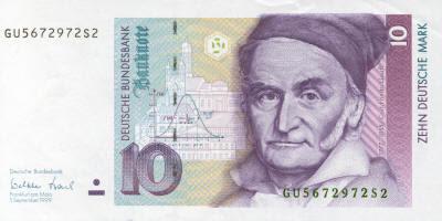 Gauss 10 Deutsch Marks