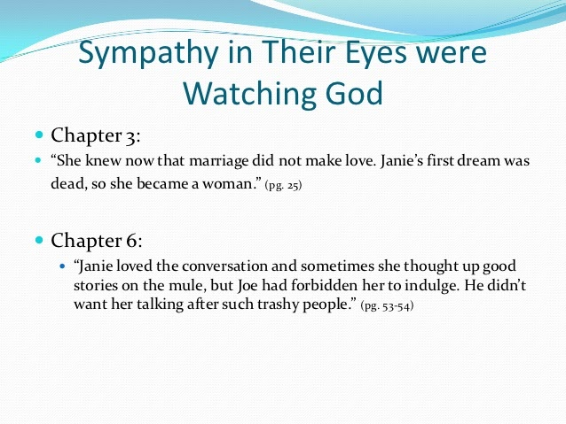 Their eyes were watching god essay questions
