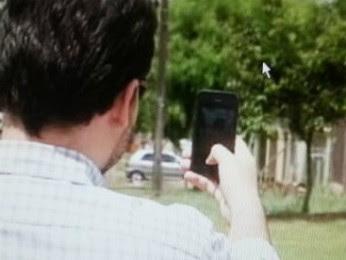 Imagens de denúncias podem ser cadastradas em tempo real, pelo celular. (Foto: Reprodução / RPCTV Cascavel)