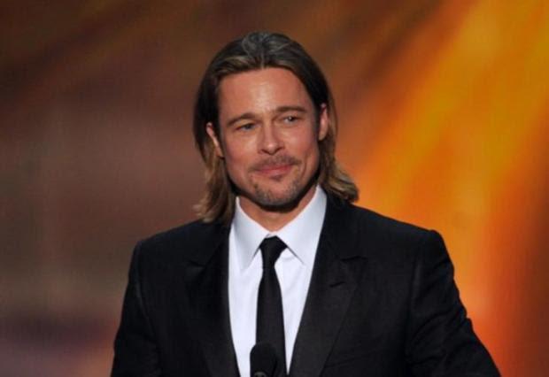 Brad Pitt é garoto-propaganda de perfume da Chanel AFP/AFP