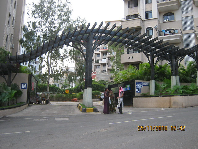 Entrance of Bramha Avenue Kondhwa Pune 411 048