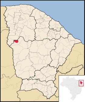 Localização de Ararendá