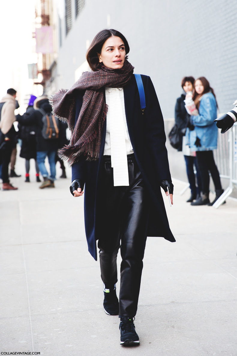 Street Style New York Fashion Week Fall Winter 2014 2015 Day 7 The Wonderful World Of Fashion