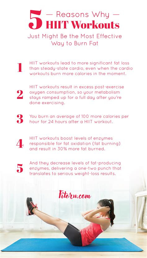 hiit workout plans lead   weight loss results