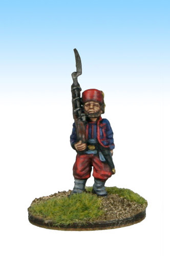Marching Zouave