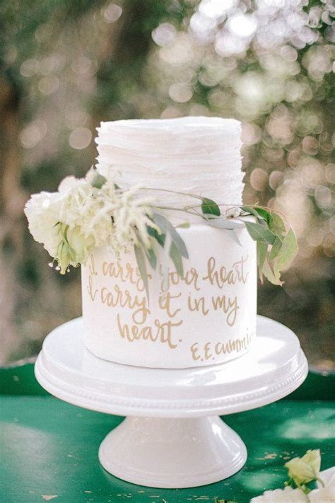 20 Elegant Wedding Cakes To Get Inspired   Deer Pearl Flowers