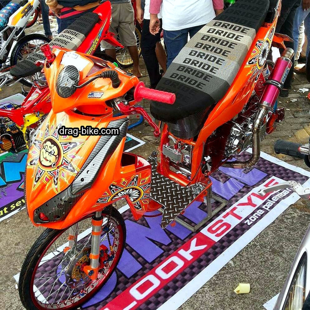 Modifikasi Honda Vario Street Racing Lampak Modifikasi