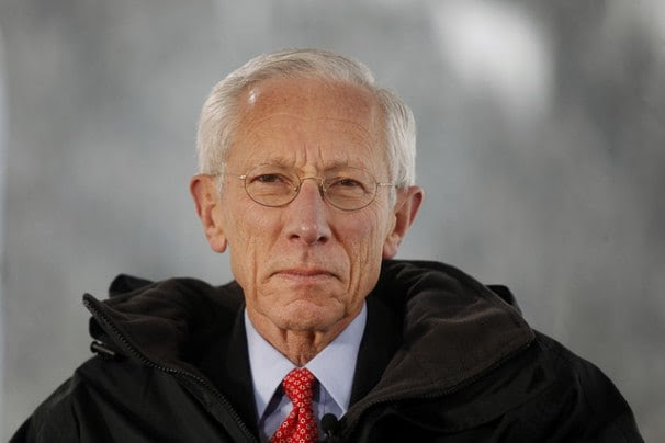 Stanley Fischer is the governor of the bank of Israel. Could he play the same role here? (Simon Dawson/Bloomberg)