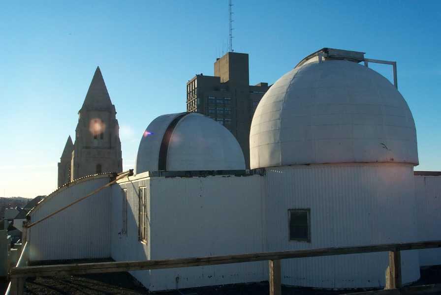 Coit Observatory, at BU